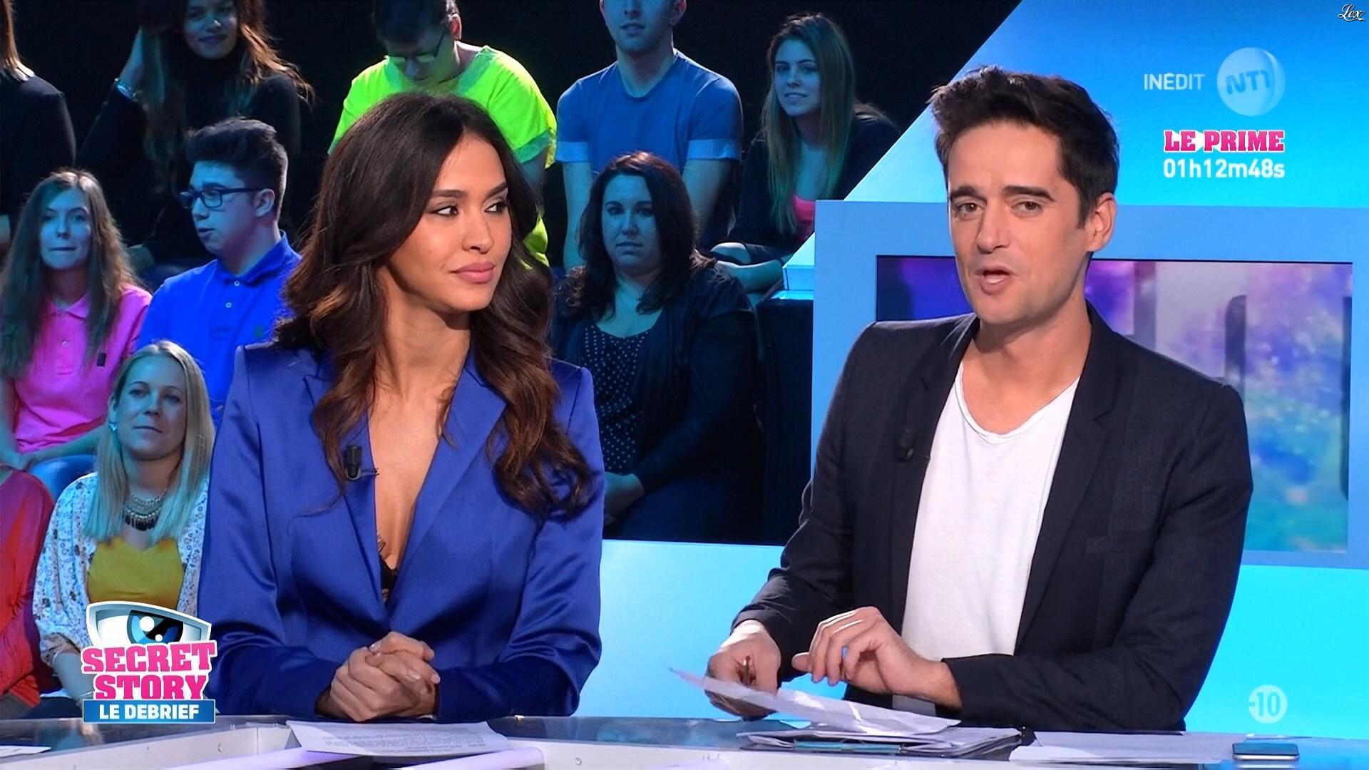 Leïla Ben Khalifa dans Secret Story le Debrief. Diffusé à la télévision le 03/11/16.