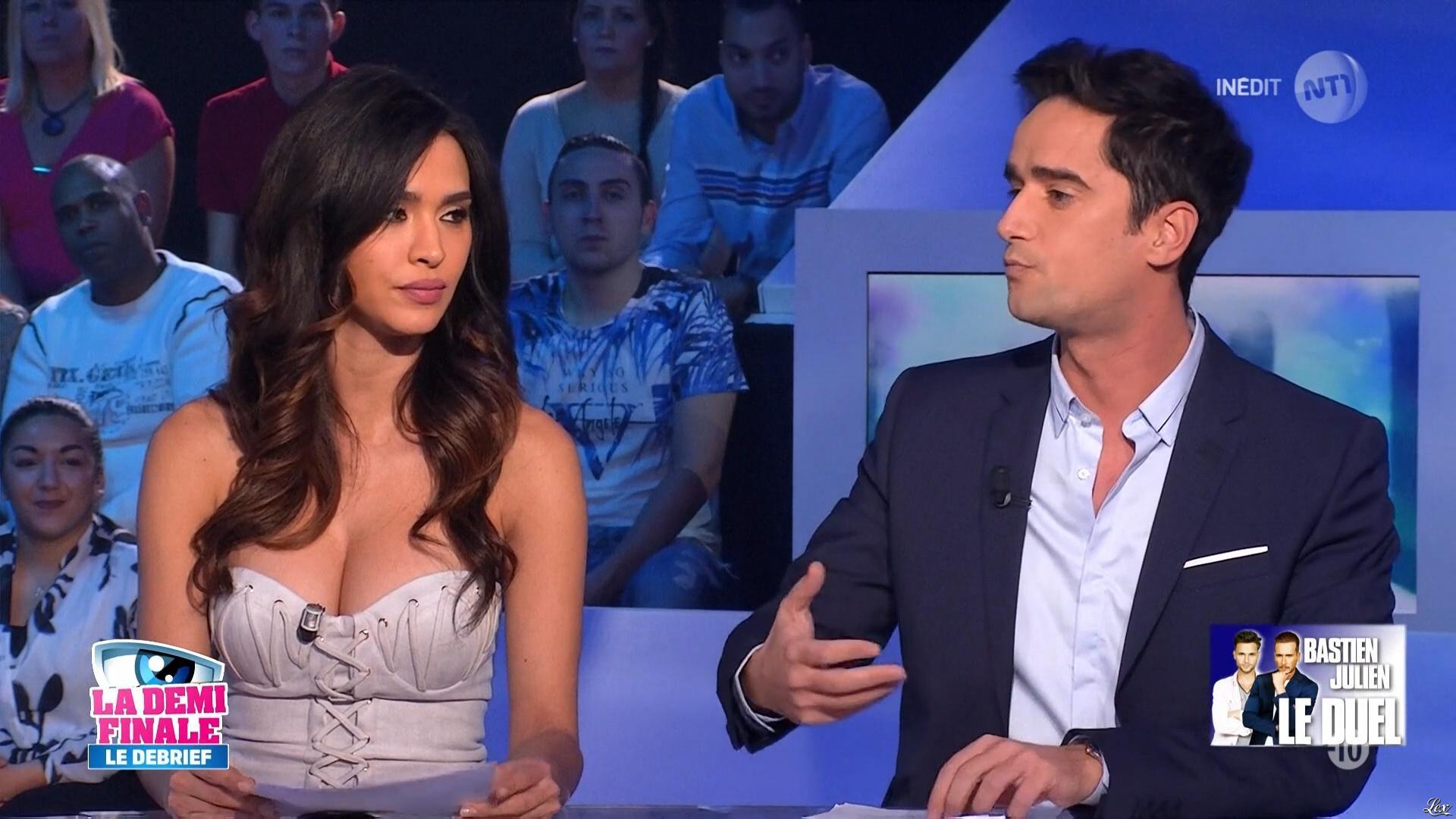 Leïla Ben Khalifa dans Secret Story le Debrief. Diffusé à la télévision le 10/11/16.