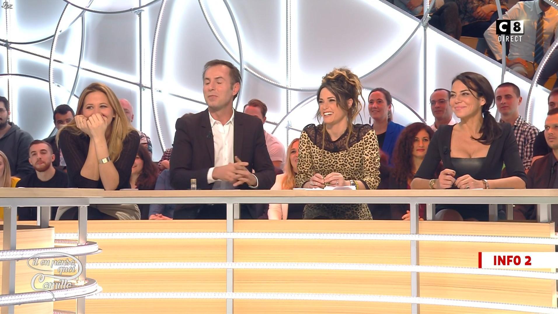 Sandra de Matteis dans Il en Pense Quoi Camille. Diffusé à la télévision le 05/12/16.