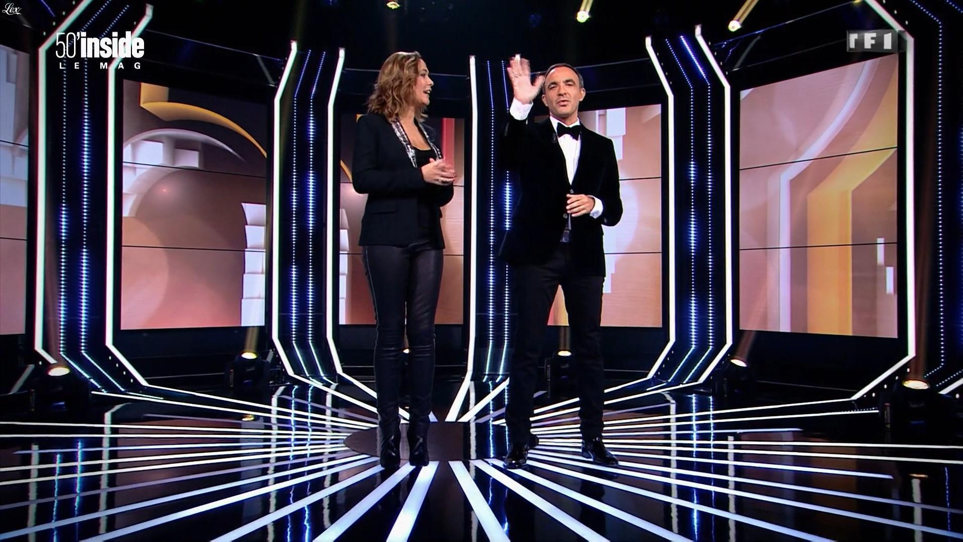 Sandrine Quétier dans 50 Minutes Inside. Diffusé à la télévision le 24/12/16.