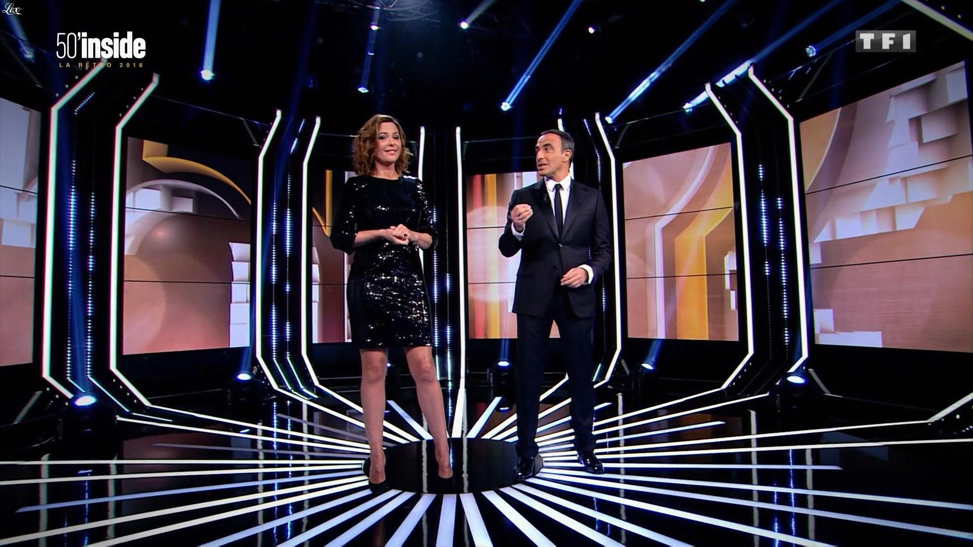Sandrine Quétier dans 50 Minutes Inside. Diffusé à la télévision le 31/12/16.