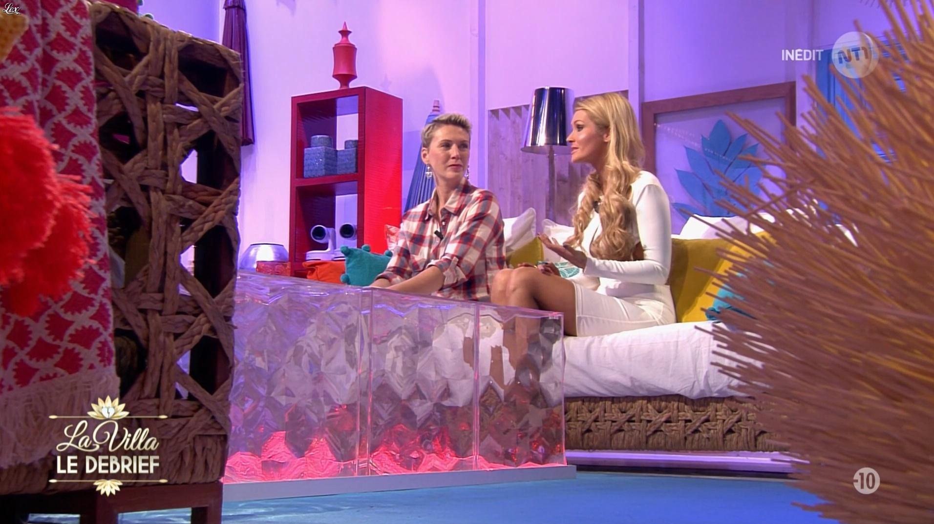 Tatiana Laurens Delarue dans la Villa le Debrief. Diffusé à la télévision le 22/12/16.