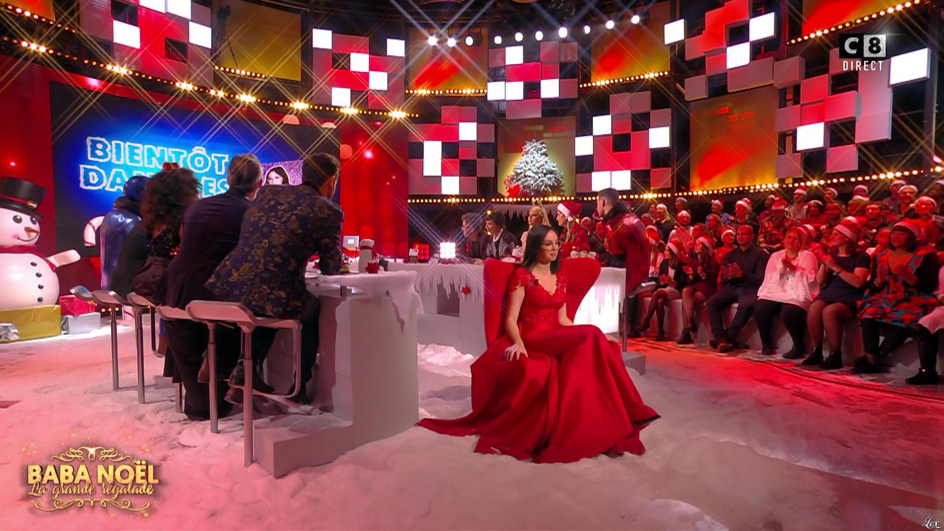 Agathe Auproux dans Baba Noel. Diffusé à la télévision le 20/12/17.