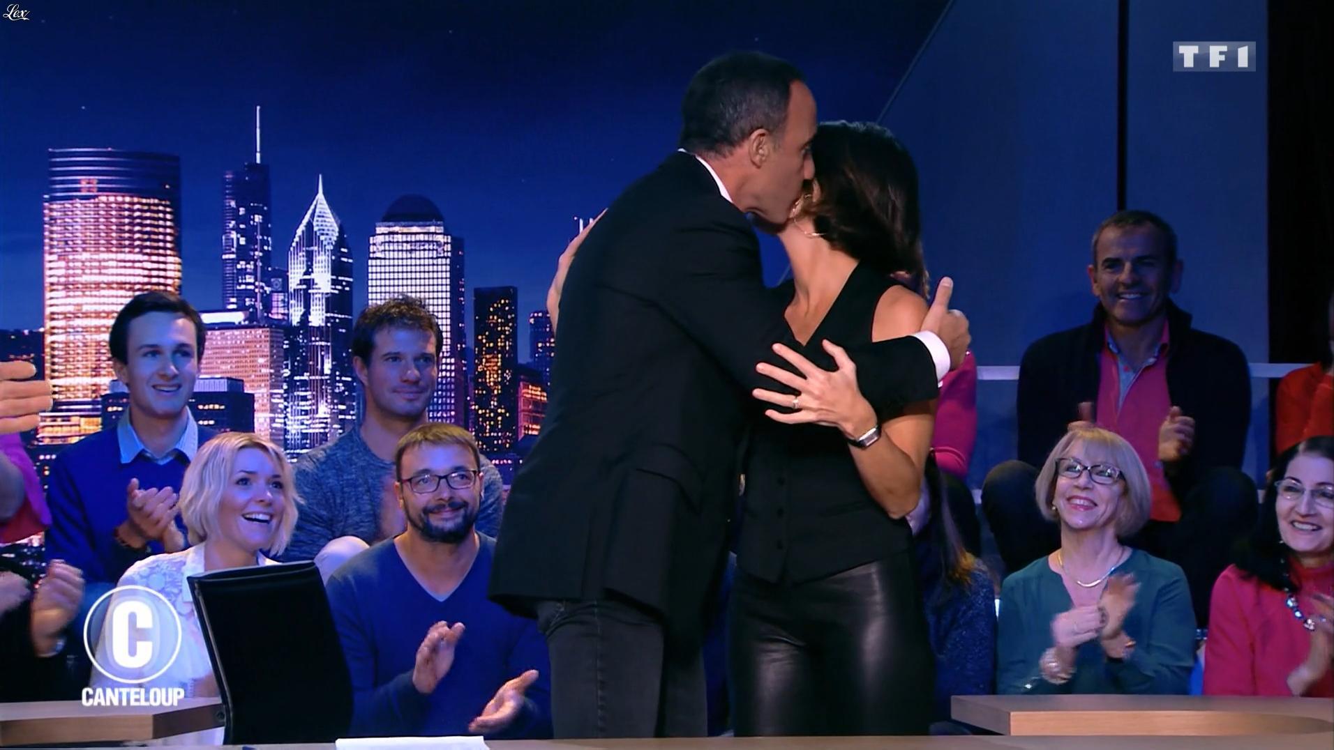 Alessandra Sublet dans c'est Canteloup. Diffusé à la télévision le 22/11/17.