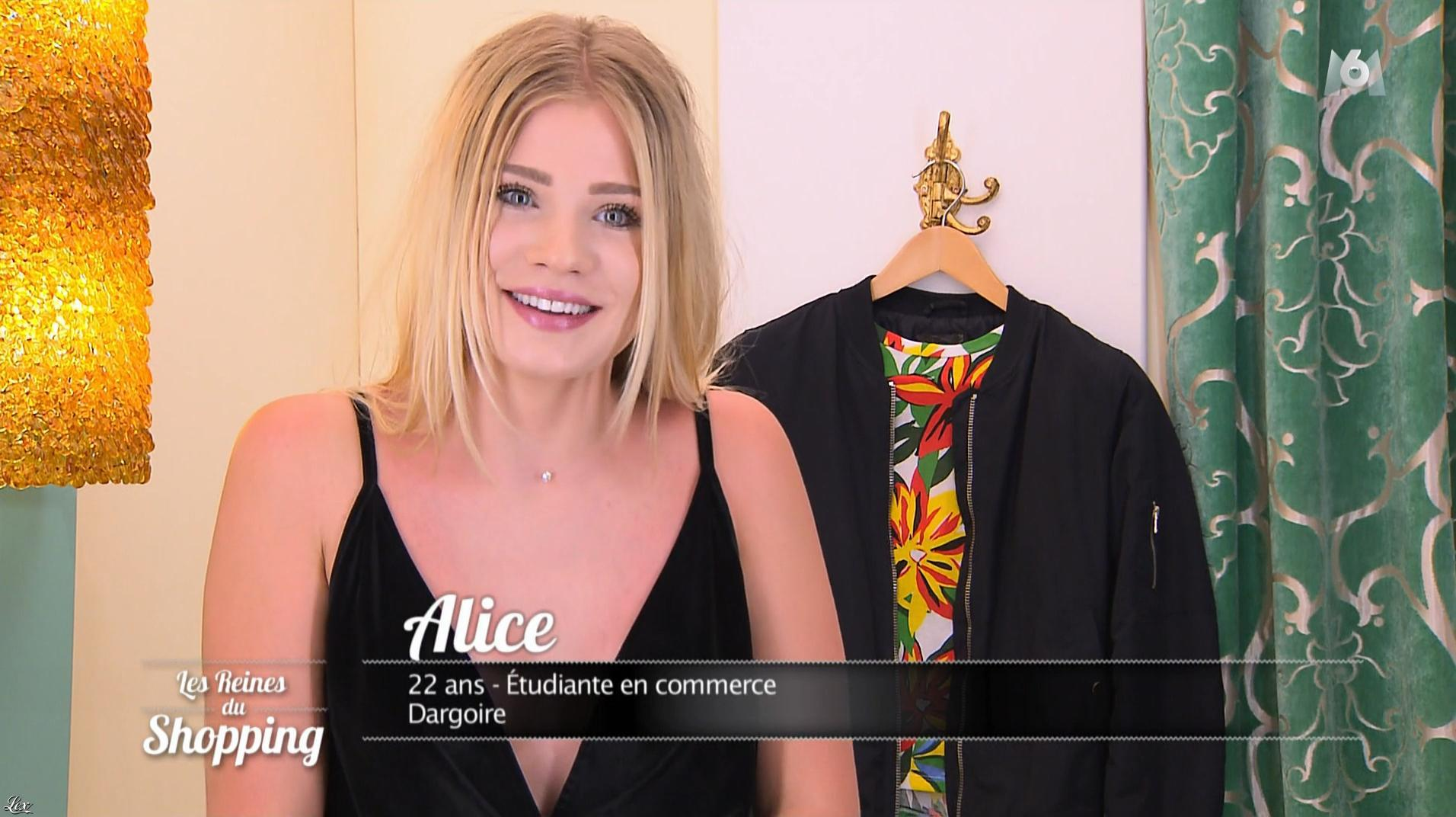 Alice dans les Reines du Shopping. Diffusé à la télévision le 04/12/17.