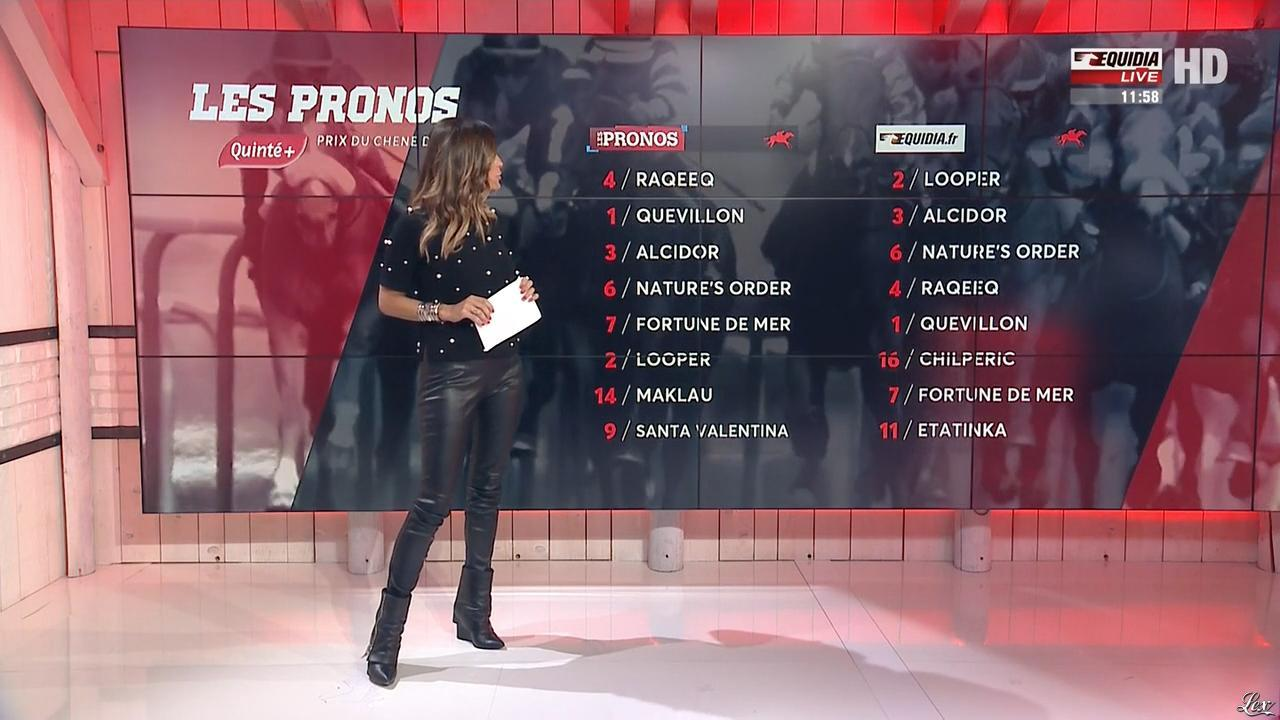 Amélie Bitoun dans un Jour aux Courses. Diffusé à la télévision le 04/09/17.