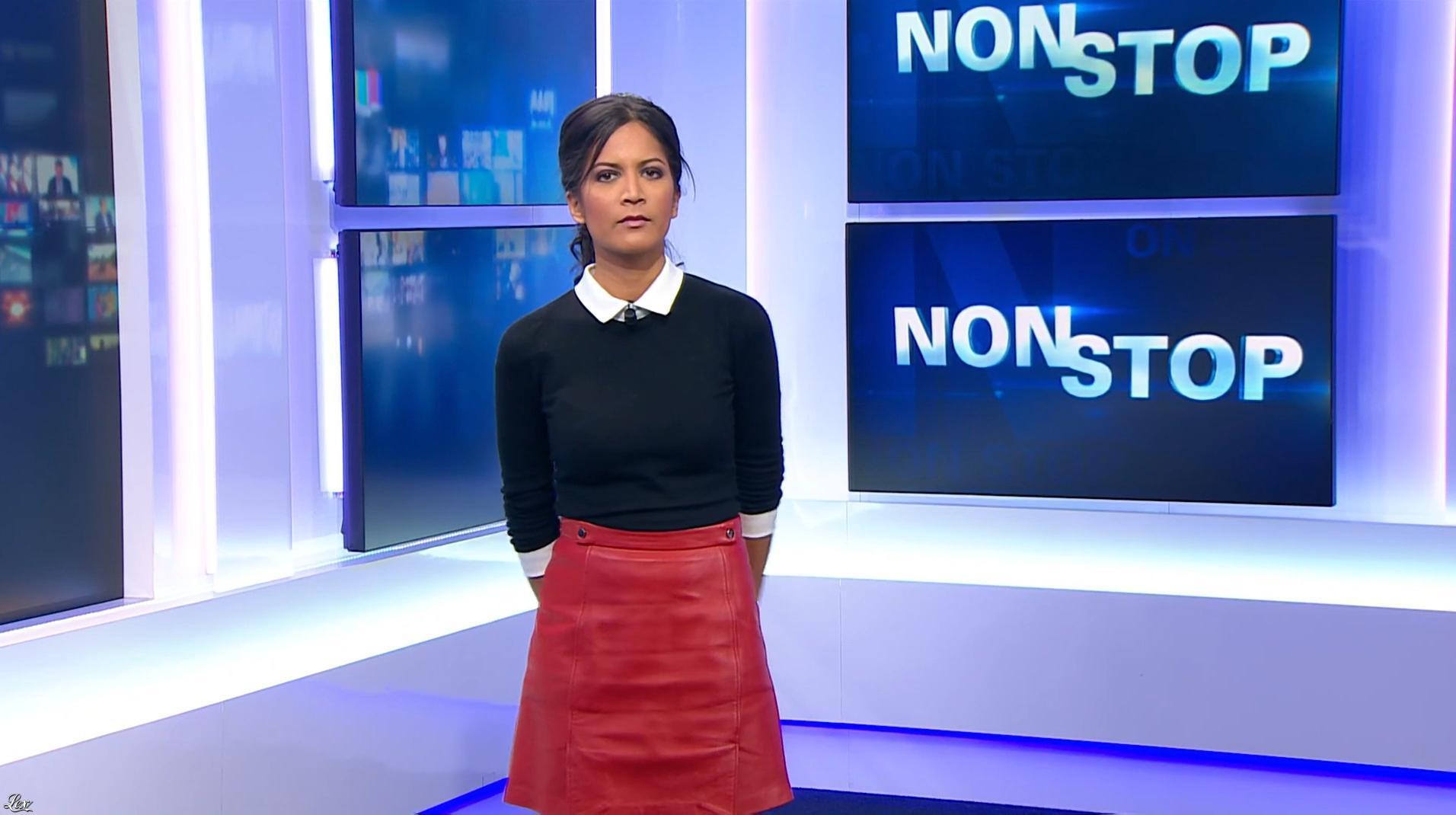 Aurélie Casse dans Non Stop. Diffusé à la télévision le 01/02/18.