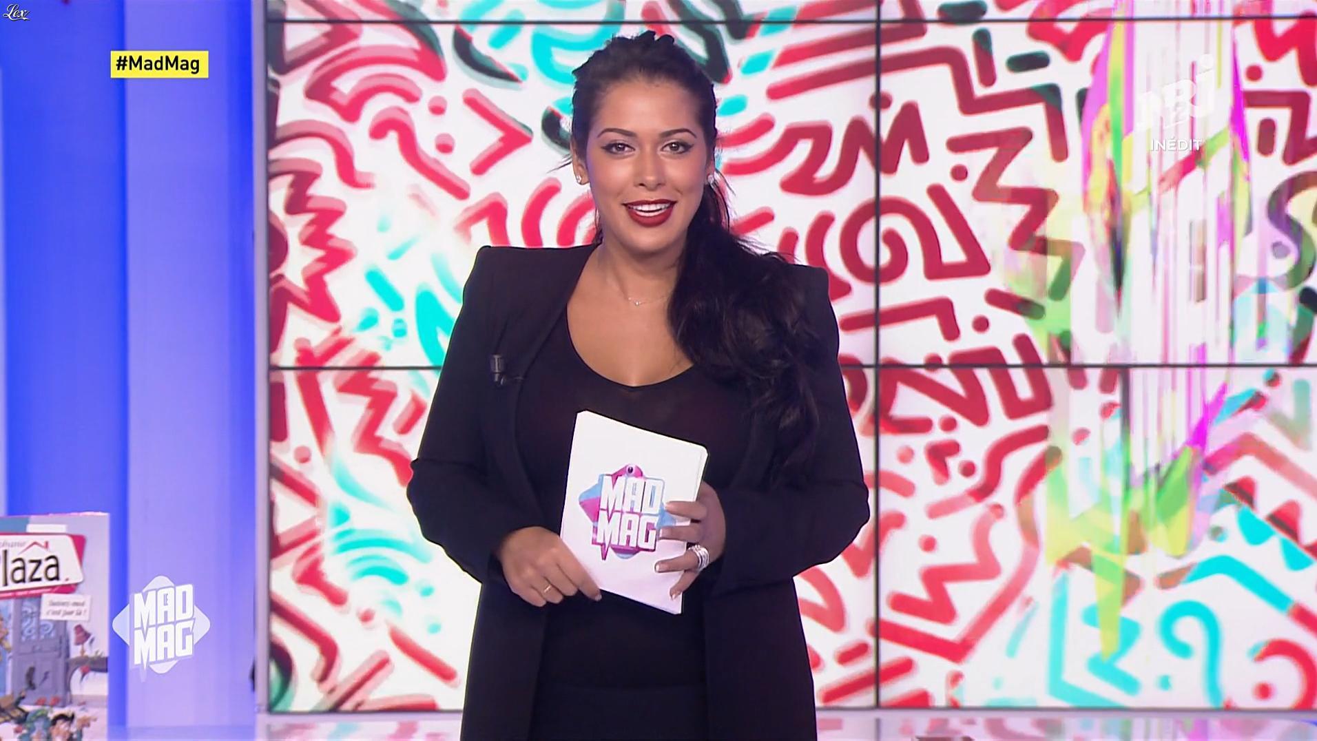 Ayem Nour dans le Mad Mag. Diffusé à la télévision le 13/11/17.