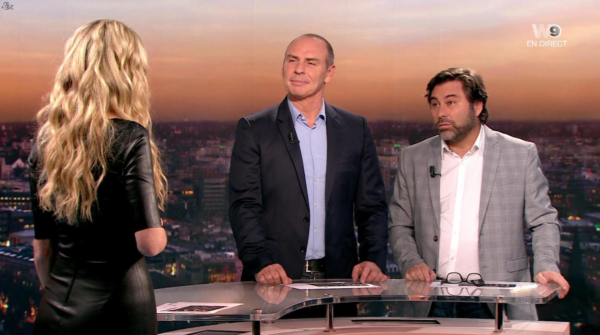 Carine Galli lors de la Soirée Europa League. Diffusé à la télévision le 15/02/18.