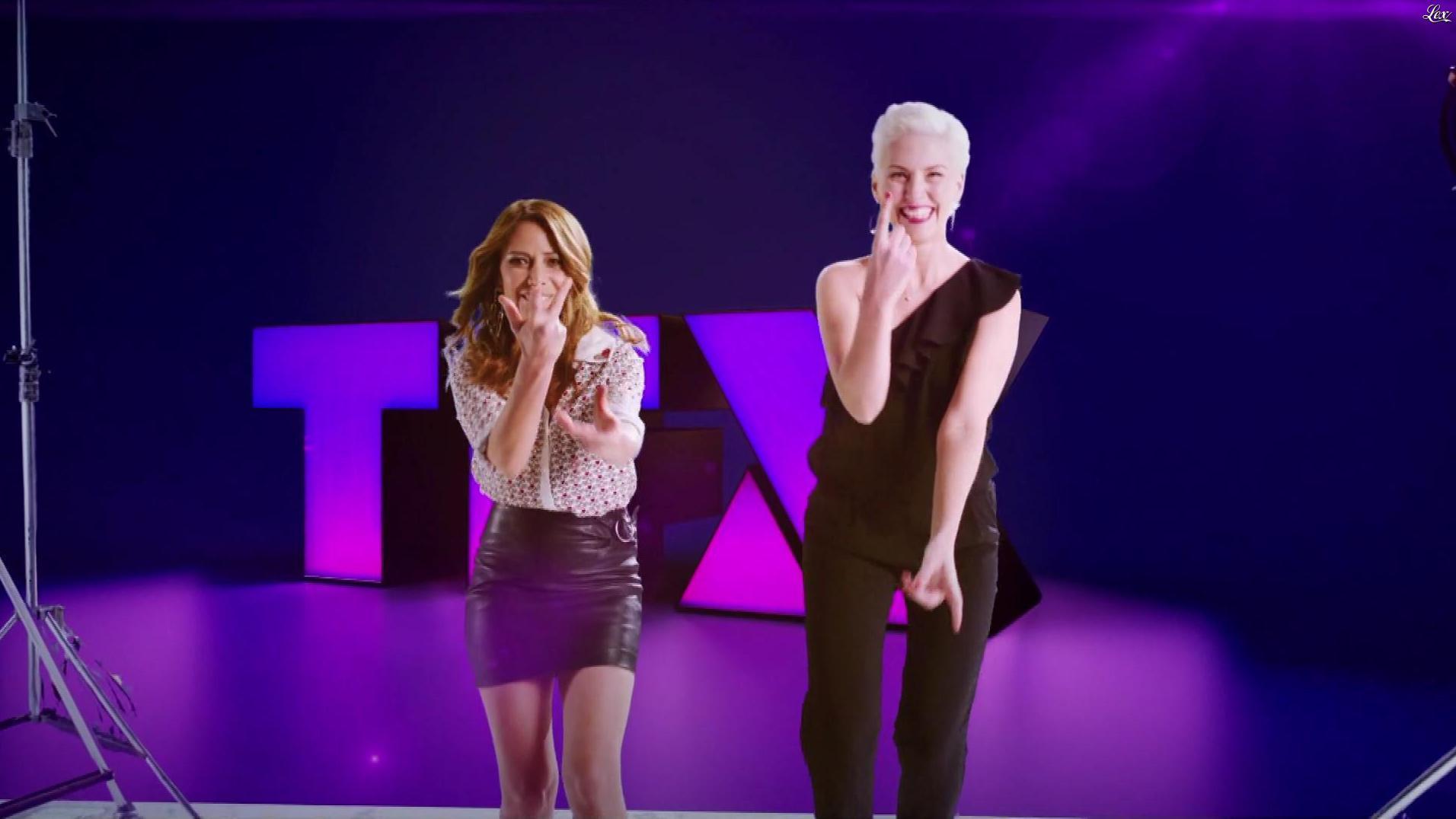 Elsa Fayer dans une Bande-Annonce de TFX. Diffusé à la télévision le 01/02/18.