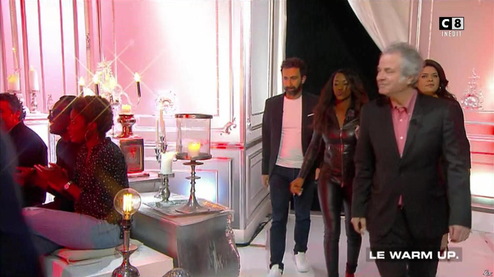 Hapsatou Sy dans les Terriens du Dimanche. Diffusé à la télévision le 04/02/18.