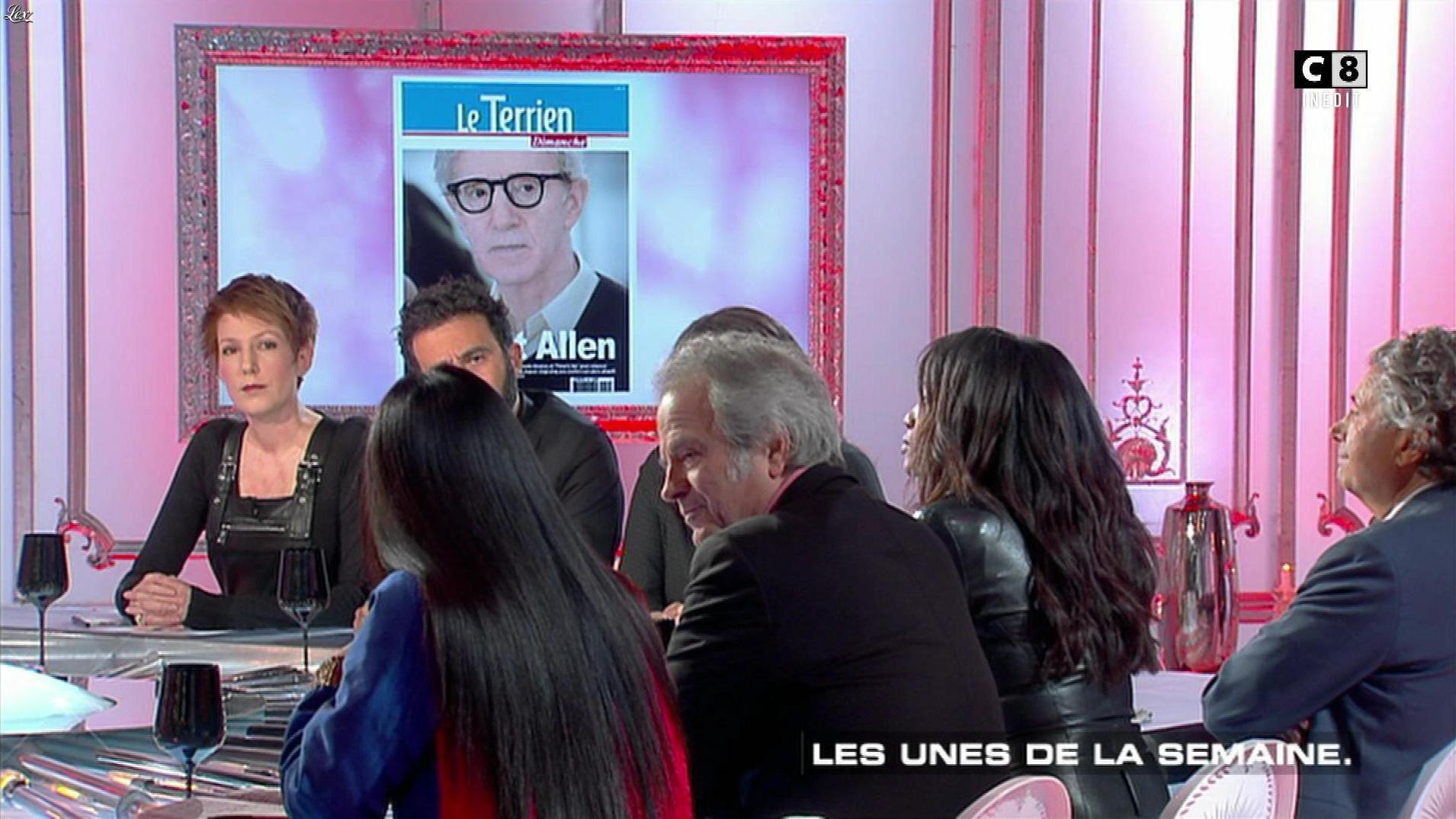 Hapsatou Sy et Natacha Polony dans les Terriens du Dimanche. Diffusé à la télévision le 04/02/18.
