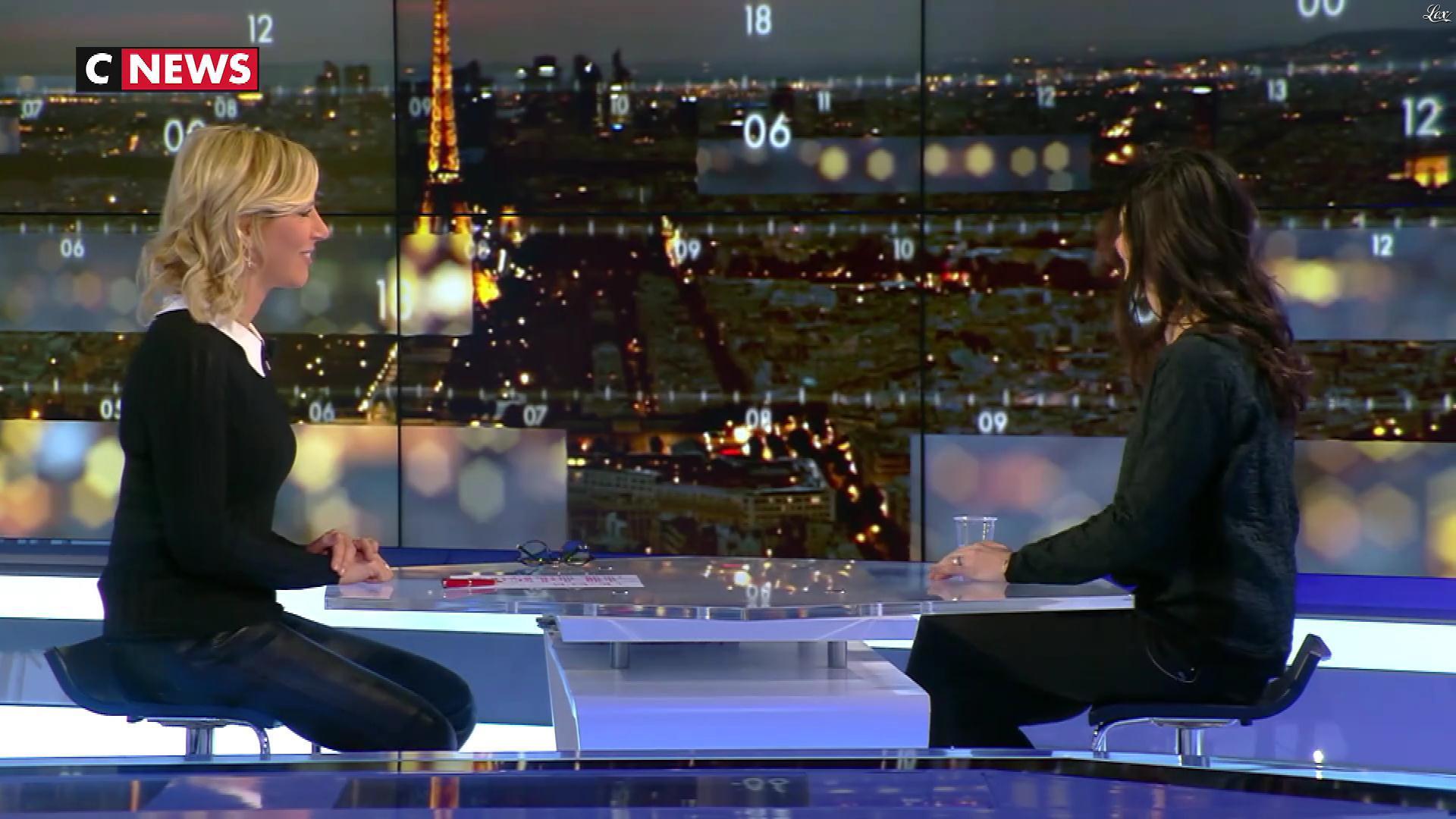 Laurence Ferrari dans la Playlist. Diffusé à la télévision le 03/02/18.