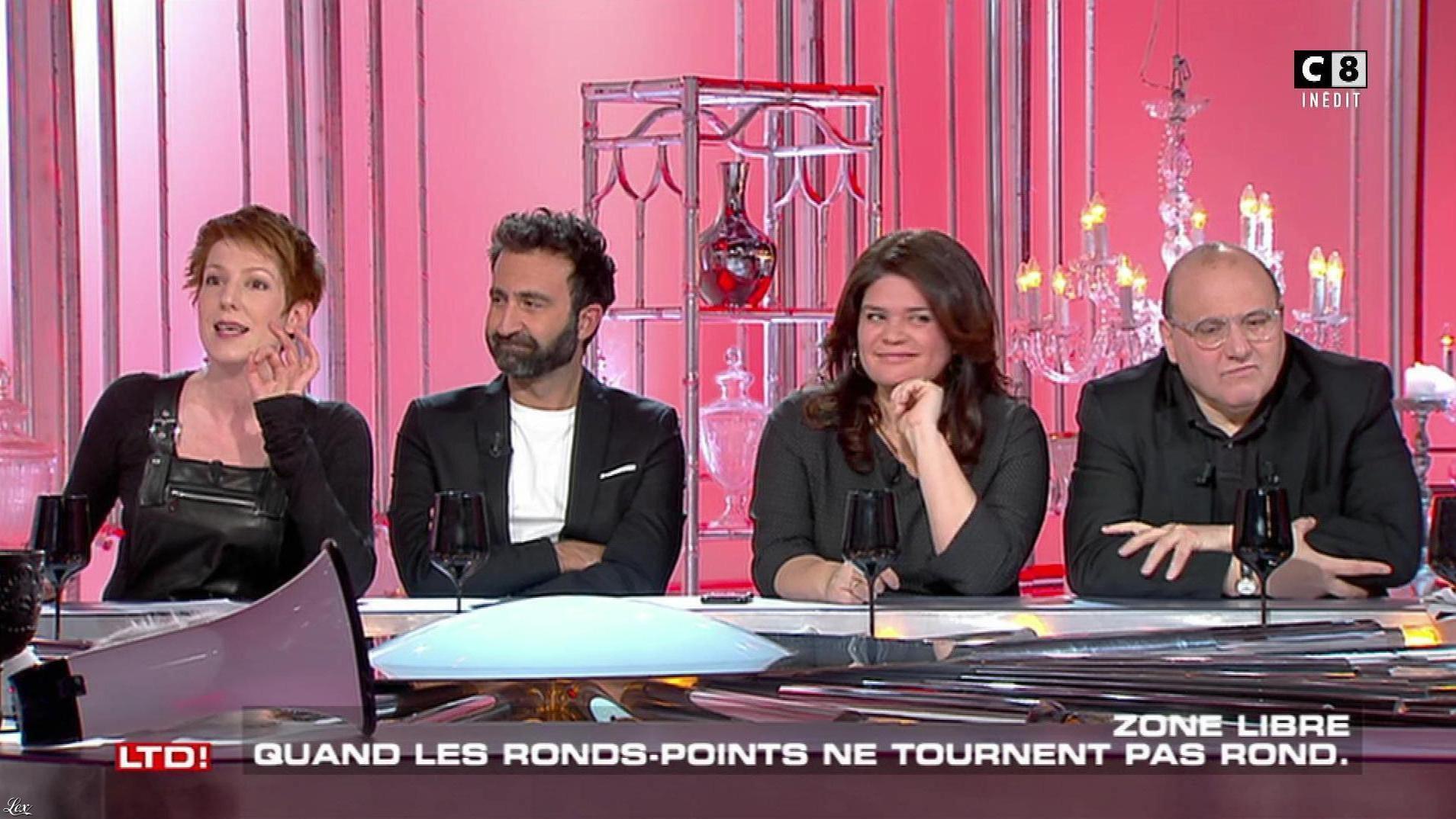 Natacha Polony dans les Terriens du Dimanche. Diffusé à la télévision le 04/02/18.