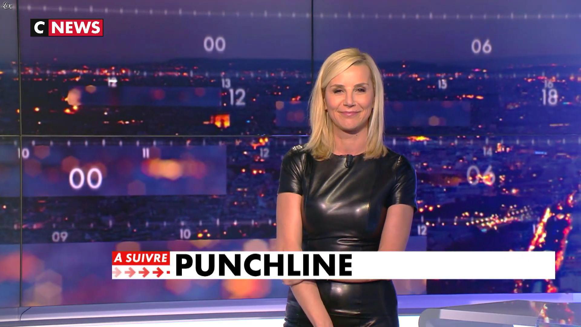 Laurence Ferrari dans Punchline. Diffusé à la télévision le 12/02/19.