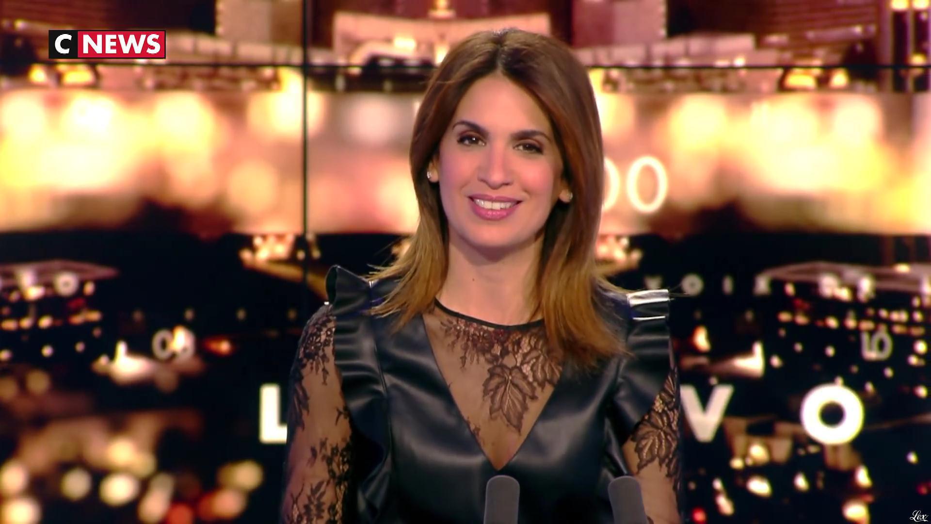 Sonia Mabrouk dans les Voix de l'Info. Diffusé à la télévision le 11/02/19.