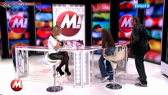 Cécile De Menibus chez Morandini. Diffusé à la télévision le 16/11/11.