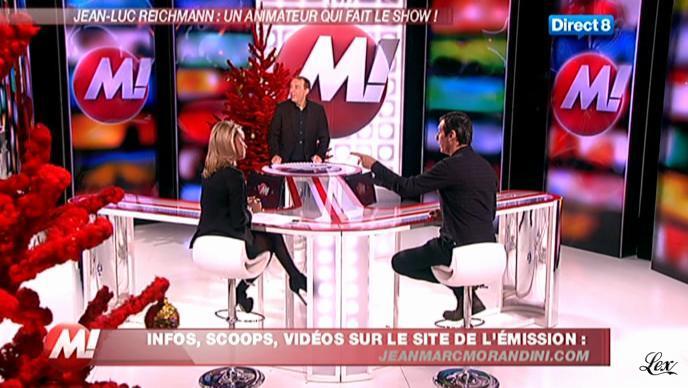Cécile De Menibus chez Morandini. Diffusé à la télévision le 16/12/11.