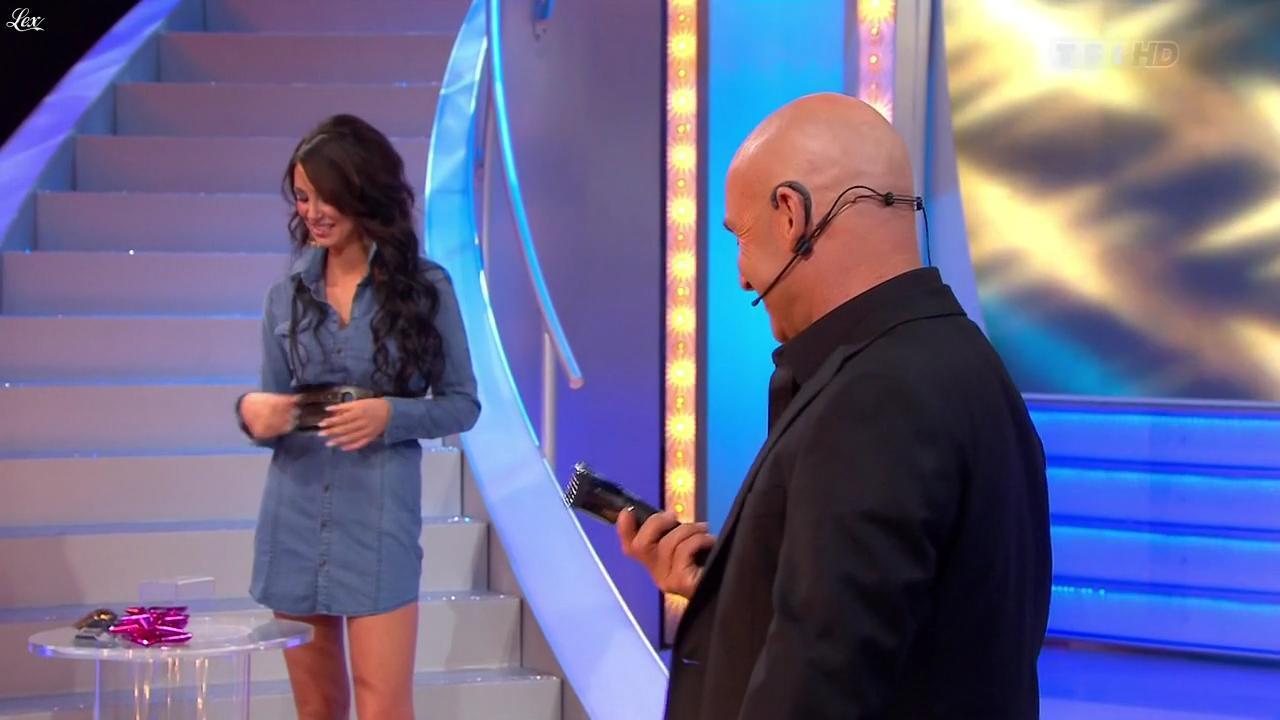 Fanny Veyrac dans le Juste Prix. Diffusé à la télévision le 11/11/11.