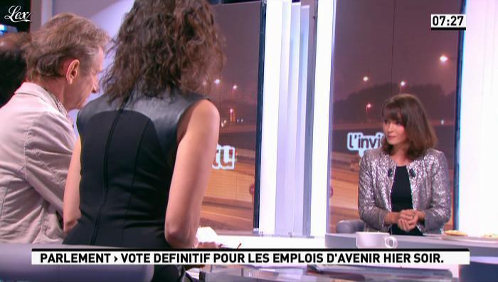 Apolline De Malherbe et Emmanuelle Duez dans la Matinale. Diffusé à la télévision le 10/10/12.