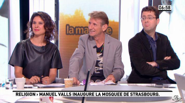 Apolline de Malherbe dans la Matinale. Diffusé à la télévision le 27/09/12.