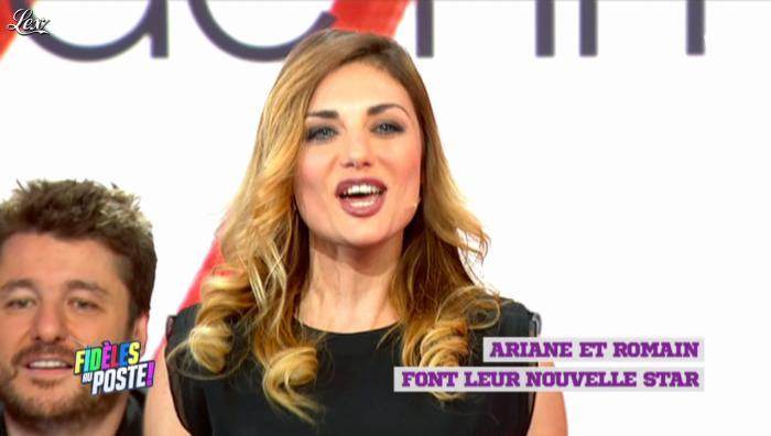 Ariane Brodier dans Fideles au Poste. Diffusé à la télévision le 20/12/12.