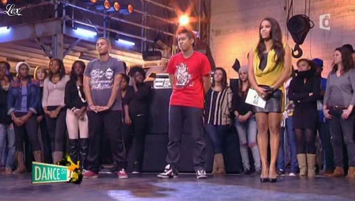 Audrey Chauveau dans Dance Street. Diffusé à la télévision le 11/04/12.