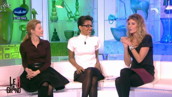 Audrey Pulvar et Caroline Ithurbide dans le Grand 8. Diffusé à la télévision le 11/12/12.