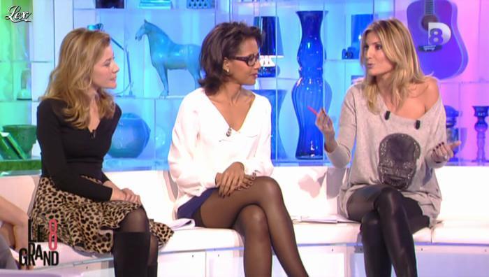 Audrey Pulvar et Caroline Ithurbide dans le Grand 8. Diffusé à la télévision le 26/11/12.