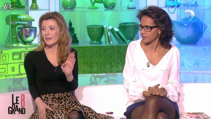 Audrey Pulvar dans le Grand 8. Diffusé à la télévision le 26/11/12.
