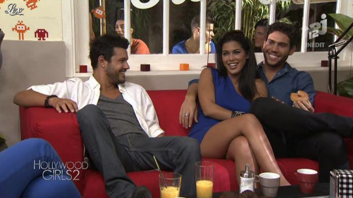 Ayem dans Hollywood Girls. Diffusé à la télévision le 22/10/12.
