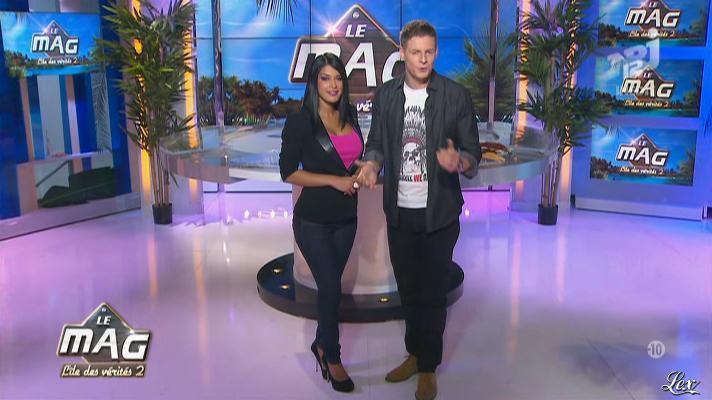 Ayem dans le Mag. Diffusé à la télévision le 23/11/12.