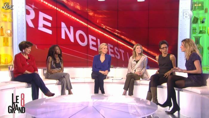 Caroline Ithurbide dans le Grand 8. Diffusé à la télévision le 18/12/12.