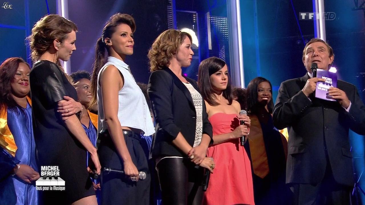 Chimène Badi, Claire Keim, Shy'm et Alizée dans Michel Berger Tout Pour la Musique. Diffusé à la télévision le 08/06/12.