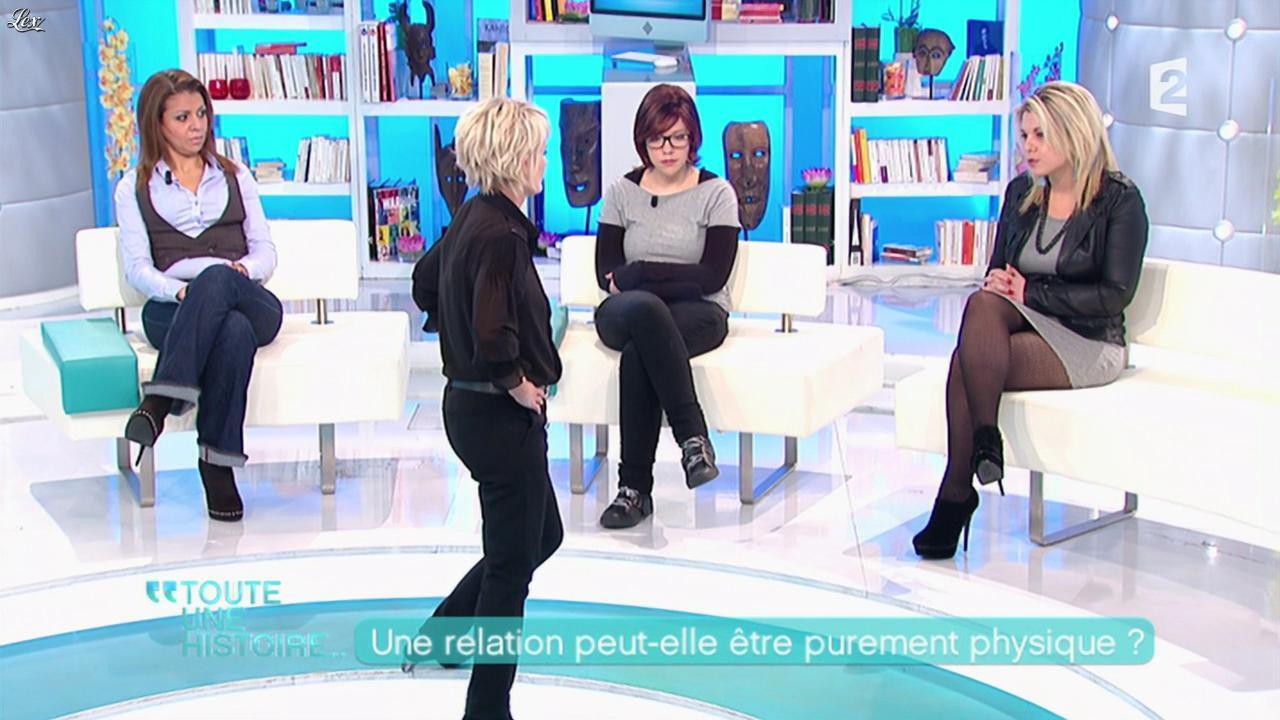 Cindy Lopes dans Toute une Histoire. Diffusé à la télévision le 06/02/12.