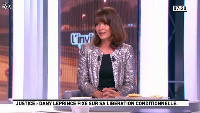 Emmanuelle Duez dans la Matinale. Diffusé à la télévision le 10/10/12.