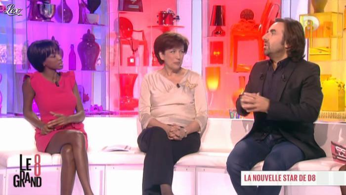 Hapsatou Sy dans le Grand 8. Diffusé à la télévision le 11/12/12.