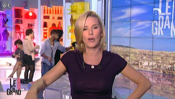 Laurence Ferrari dans Annonce Grand 8. Diffusé à la télévision le 17/10/12.