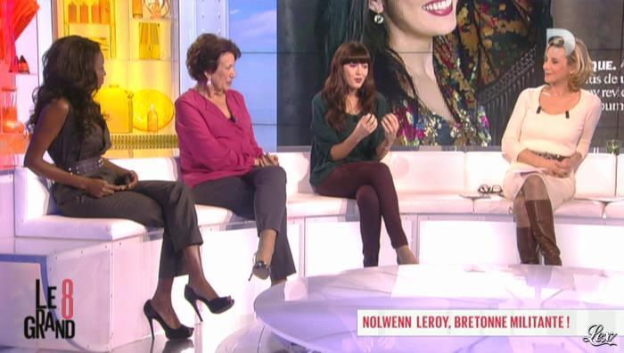 Laurence Ferrari dans le Grand 8. Diffusé à la télévision le 26/11/12.