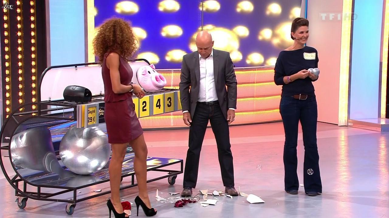 Doris Rouesne dans le Juste Prix. Diffusé à la télévision le 21/11/12.