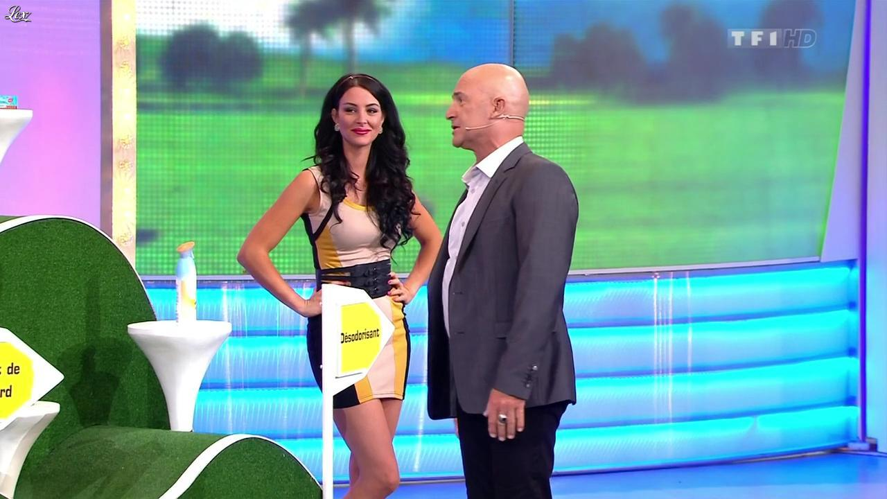 Fanny Veyrac dans le Juste Prix. Diffusé à la télévision le 19/09/12.