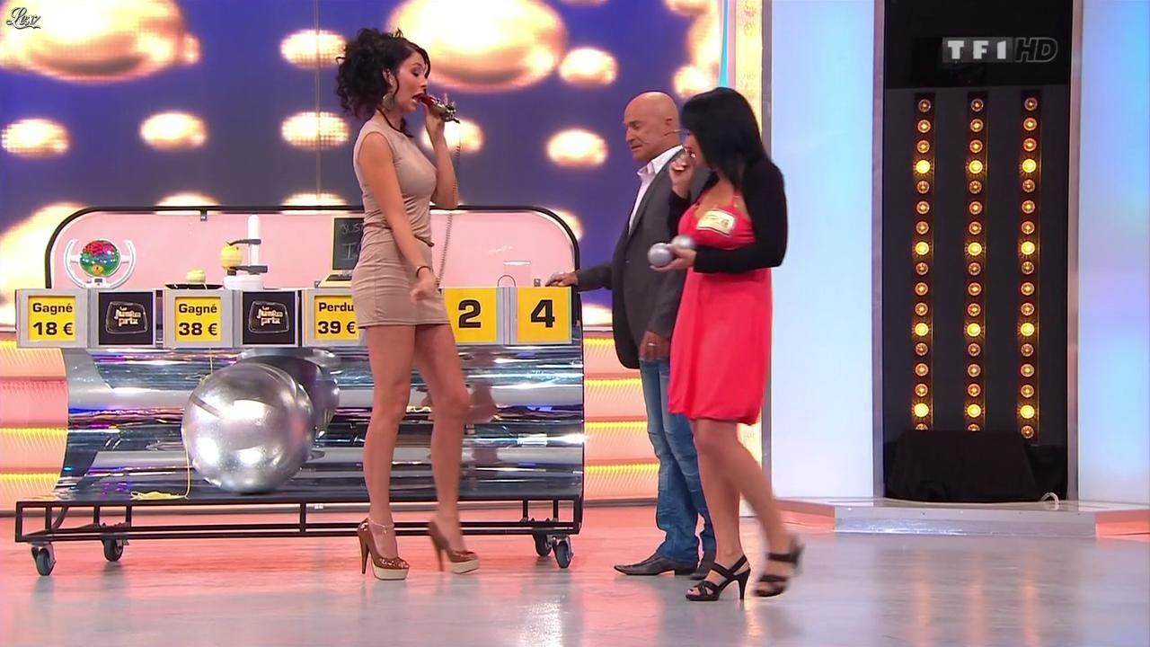 Fanny Veyrac dans le Juste Prix. Diffusé à la télévision le 24/10/12.