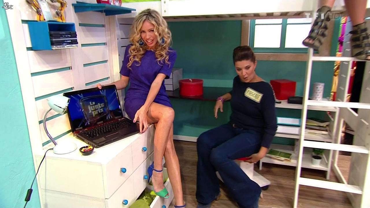Nadia Aydanne dans le Juste Prix. Diffusé à la télévision le 21/11/12.