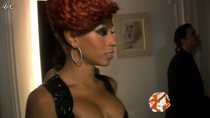 Mia Frye dans le Grand Journal de Canal Plus. Diffusé à la télévision le 24/11/08.