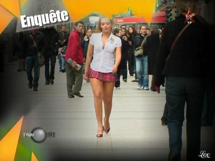 Oksana dans Paparanews. Diffusé à la télévision le 31/10/08.