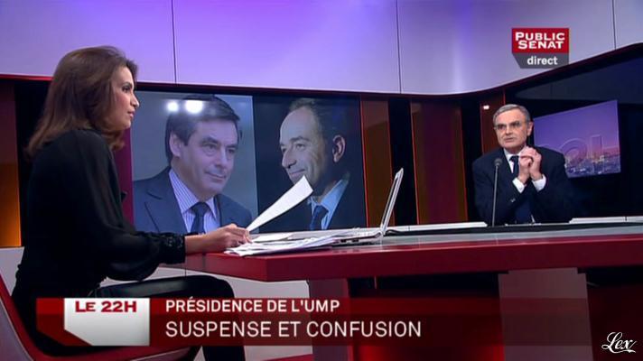 Sonia Mabrouk dans le 22h. Diffusé à la télévision le 19/11/12.