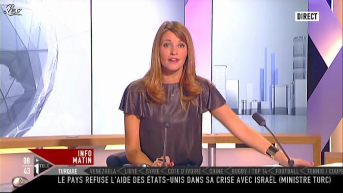 Valérie Amarou sur i-Télé. Diffusé à la télévision le 18/09/11.