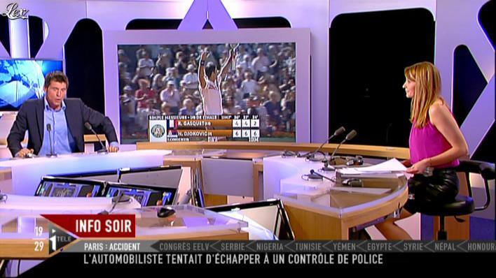 Valérie Amarou sur i-Télé. Diffusé à la télévision le 29/05/11.