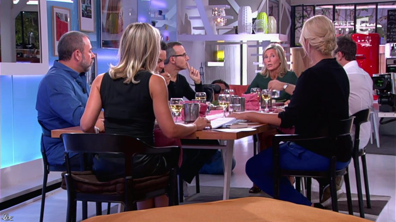 Anne-Sophie Lapix dans C à Vous. Diffusé à la télévision le 03/09/13.