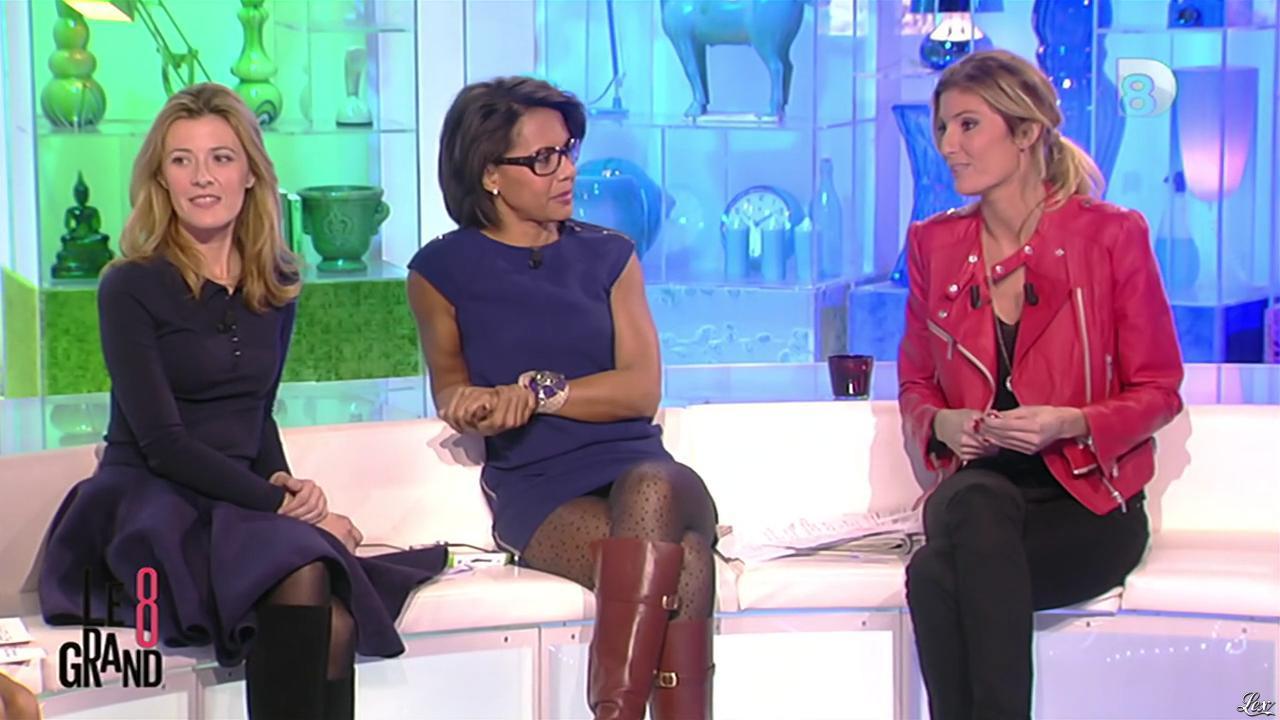 Audrey Pulvar et Caroline Ithurbide dans le Grand 8. Diffusé à la télévision le 13/11/12.
